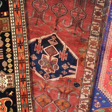 Nomadic carpets / Village carpet