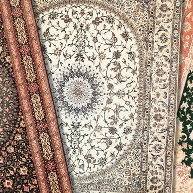 Traditional Persian carpets